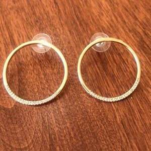 Baublebar Circle post earrings